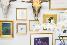 Wall Decor / Assorted ways to cover the empty space.
