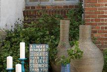 My favorite home style. / Ihania ideoita ja kaikkea kaunista kotiin. #industrial #rustic #nature