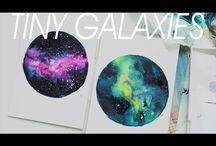 Watercolour- Universe