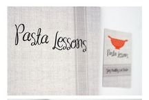 Pasta Lessons  / PASTA LESSONS is channel with video recipes of pasta only for real italian pasta lovers, it combines together the passion for graphic and the food. PASTA LESSONS give rise to a new way of telling the recipes, fun and original! /  Studio Ginko design its naming, logo, printings, photography and its stop-motion videos! /    VIMEO http://vimeo.com/pastalessons