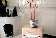 Valentines light bulb gift / A cool fun gift for valentines day!!
