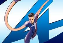 Comic art 28=Fantestic 4-Mister Fantastic (Reed Richards)-Annihilus-Nathaniel Rishards-