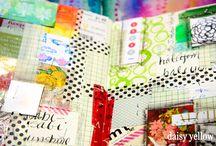 Gluebooking, Smash Book, Collage Book, Bits & Pieces Book