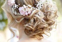 Coiffure et maquillage / Idées de coiffure de mariée