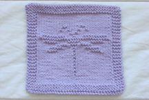 Crochet face clothes