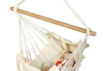 Naši najmenší / Hojdacie siete a závesné kreslá pre deti a babätká.