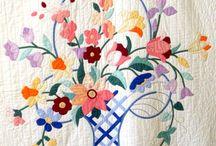 flower basket quilts