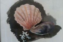 Things I make / Akryl, akvarell, tusj, blyant...