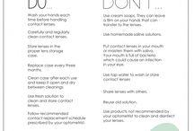 contact lenses tips
