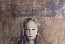 Retrato / Óleo sobre tabla