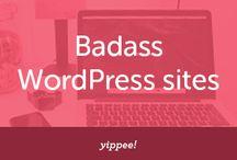 Badass WordPress sites