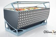 Olimpica by ISA / Olimpica Display Cabinets by ISA