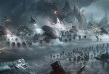 Sci-fi army