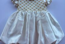 baby girls' dresses / embroidered dreamy dresses