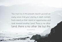 Quotes/ transcendantalism ♥