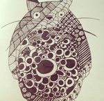 ZENTANGLE / DESSIN