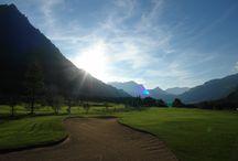 Golfhotel Bellevue-Terminus Engelberg / Golfclub Engelberg Titlis. Golf. Berge. Natur.