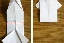 Oblečky z papiru