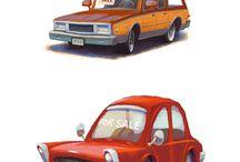 cars illustrations