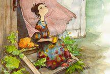 Ilustraciones / by Laura Felix
