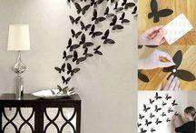 ¡Basta de paredes tan aburridas! Cámbialas tú mismo con estas 45 fantásticas ideas.