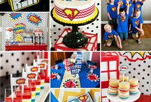 Party: {superhero} / Craft DIYs and inspiration for all things related to a Superhero party theme!