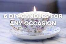 Kerzen recyclen