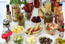 """""""Bars"""" for Nearly Everyone / These are DIY Bars for entertaining. From Burger Bars to Bloody Mary Bars, these are delicious party setups. / by Jim """"Rhino"""" Reincke"""