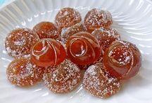Dulces de miel