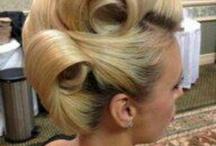 Rock & Retro hair style