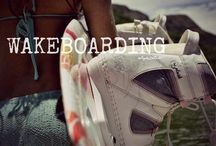 Wakeboarding!  / Nothing better than fun in the sun....