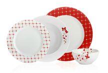 Butterfly Yemek Takımı / Kırmızının masalarınızı renklendirmesinin zevkini yaşayın