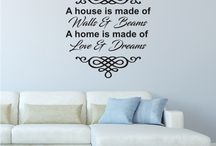 Wall Art / Create a touch of HAPPIness in your home with a Happi Home wall decal.   Made from premium quality Avery vinyl, Happi Home decals come with illustrated written instructions making installation simple. All designs are available in a variety of colours.  These decals are many more designs are available for purchase at: https://happihome.com.au/store/…