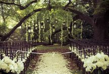 outdoor ceremony ideas. / Cranford has such beautiful grounds: here are some fun ideas for outside