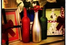 Wine bottle crafts / by Danielle Griffin