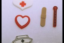 Nurse Health Medical Resins Ribbons and MORE