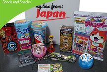 my box from japan / Japanese goodies to your doorstep