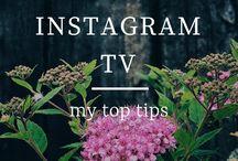 Instagram TV / IGTV #IGTV