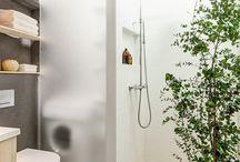 Våtrom / Bad, våtrom, toalett, dusj, badekar, håndvask, baderomsinnredning, vaskerom