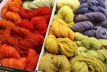 My dyes / I like natural dyeing too