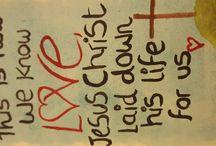 My bible art☺