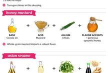 Healthy recipes / Dressings
