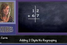 Math Videos / Skubes creates math, science and language arts videos for teaching, tutoring or homeschool resources.  Our videos feature real teachers teaching the subject matter they teach everyday in the classroom.  This board is filled with freeze frames from over 1,000 math videos currently available on Skubes.com