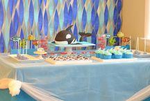 Decoration sea party