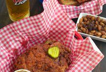 Nashville Hot Chicken Kitchen / Hot Chicken Inspiration