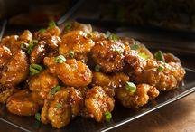 Six ingredient orange chicken