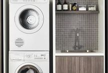 laundry ideas / good designs for small laundrys