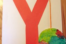 Letter Y Preschool / Preschool activities, books, and crafts for the Letter Y.
