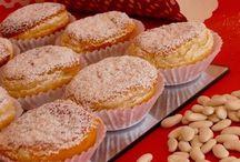 Mais Doçuras / Pasteis doces e bolos pequenos