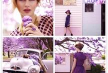 I love Purple Violet Aubergine / by Gayle Martin